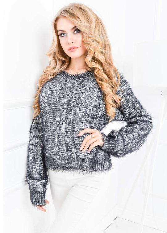 Sweterek na zimę damski